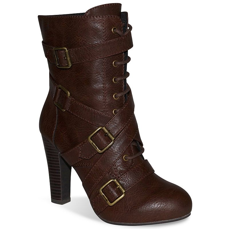 Dolce by Mojo Moxy Brown Diddley Women's High Heel Boots