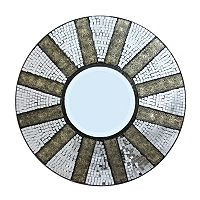 Mosaic Tiled Wall Mirror