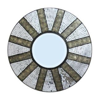 Mosaic Tiled Wall Mirror