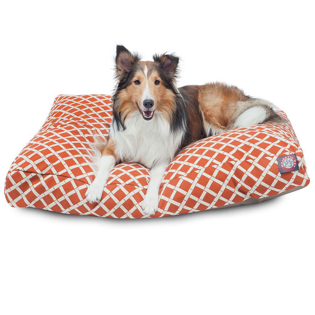 Majestic Pet Criss-Cross Rectangular Pet Bed - 36