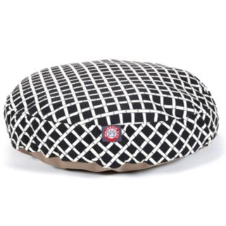 Majestic Pet Criss-Cross Round Pet Bed - 30'' x 30''
