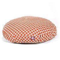 Majestic Pet Criss-Cross Round Pet Bed - 42