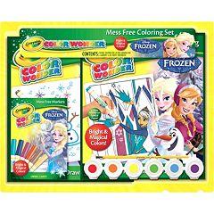 Disney Frozen Crayola Color Wonder Mess-Free Coloring Set