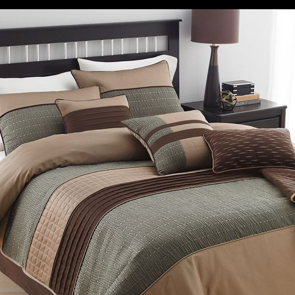 Lexiara 7 Pc Comforter Set, Kohls Queen Bedding Set