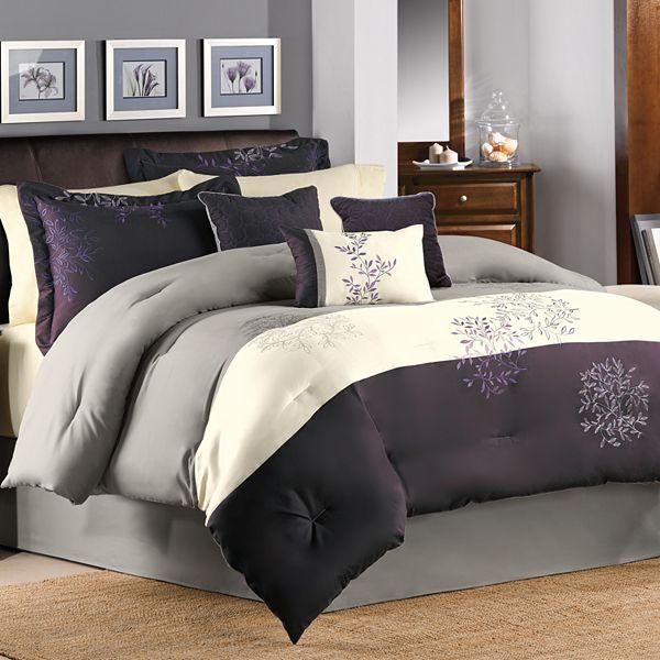 Muren 7 Pc Comforter Set, Kohls Queen Bedding Set