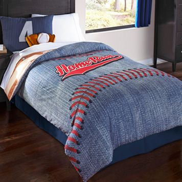 Baseball Reversible Comforter Set
