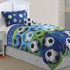 Soccer Comforter Set