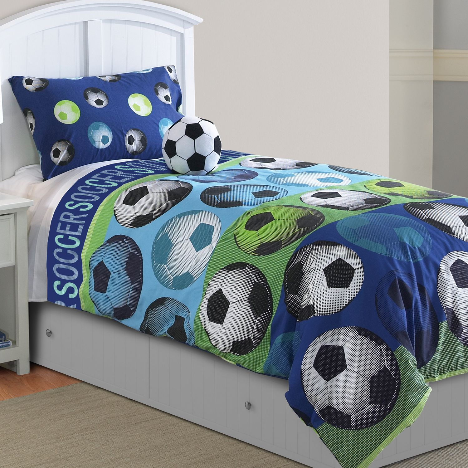 surprising Soccer Comforter Full Part - 5: Kohlu0027s