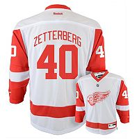 Reebok Detroit Red Wings Henrik Zetterberg NHL Jersey - Boys 8-20