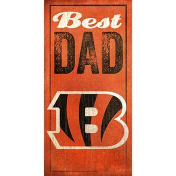 Cincinnati Bengals Best Dad Sign