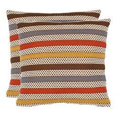 Bleeker 2 pc Throw Pillow Set