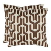 Texola 2 pc Throw Pillow Set
