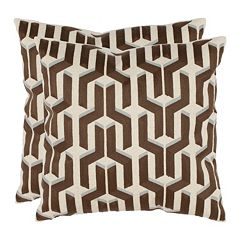 Texola 2 pc Throw Pillow Set