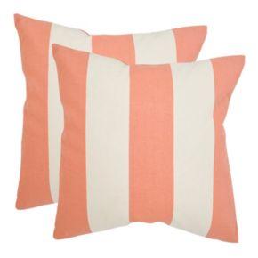 Sally 2-piece 18'' x 18'' Throw Pillow Set