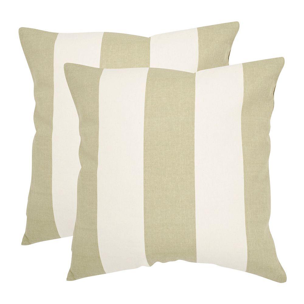Sally 2-piece 22'' x 22'' Throw Pillow Set