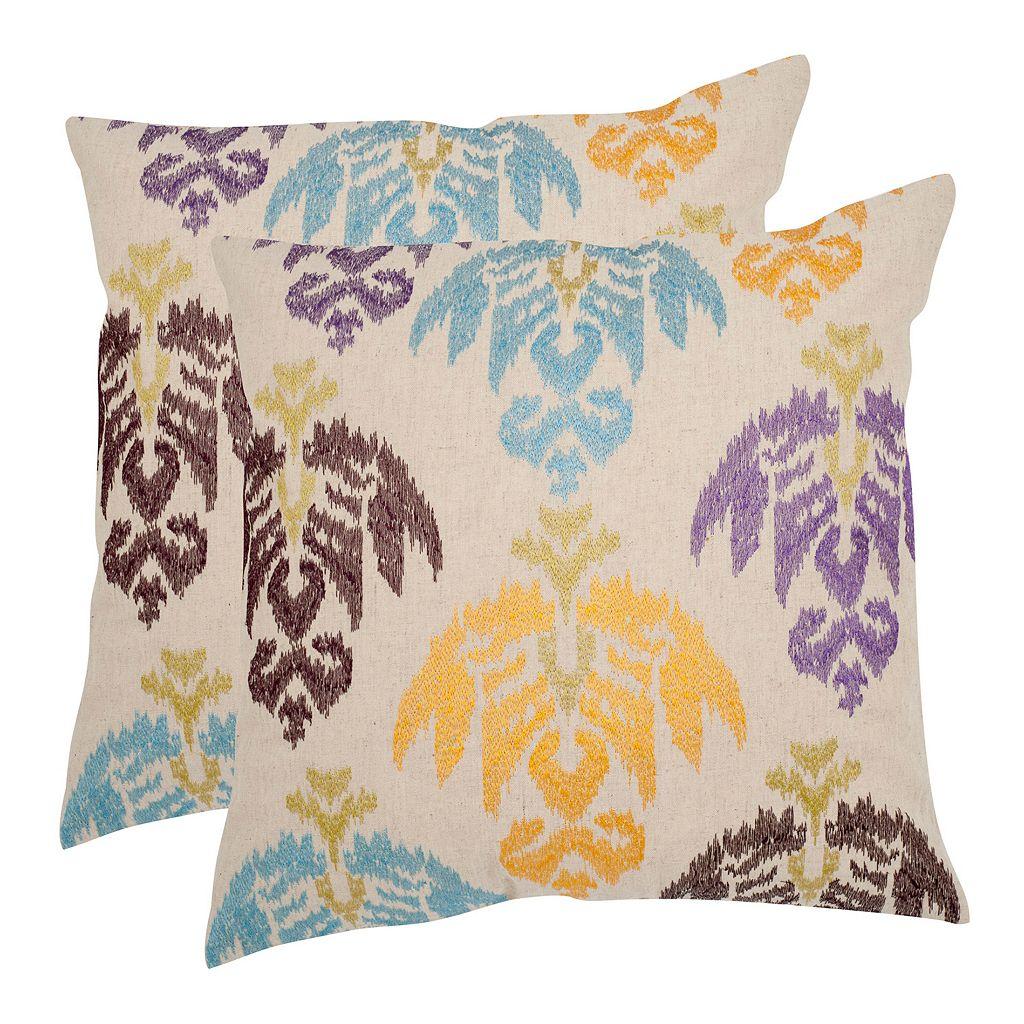 Dina 2-piece 18'' x 18'' Throw Pillow Set