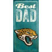 Jacksonville Jaguars Best Dad Sign