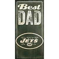 New York Jets Best Dad Sign