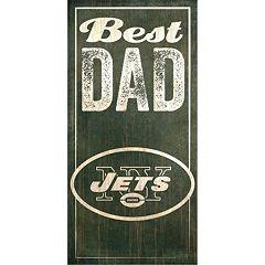 New York Jets Best Dad Sign