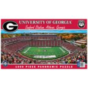 Georgia Bulldogs 1000-pc. Panoramic Puzzle