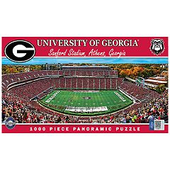 Georgia Bulldogs 1000-pc. Panoramic Puzzle