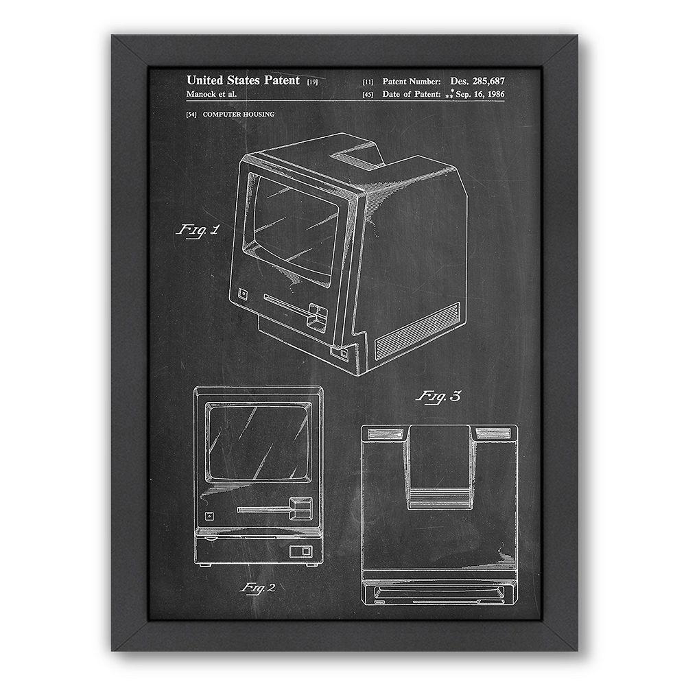 Americanflat ''Apple Computer Original'' Framed Wall Art