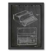 Americanflat ''Apple Computer'' Framed Wall Art