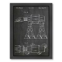 Americanflat ''At-At Walker'' Framed Wall Art