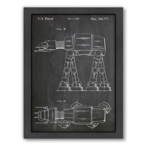 "Americanflat ""At-At Walker"" Framed Wall Art"
