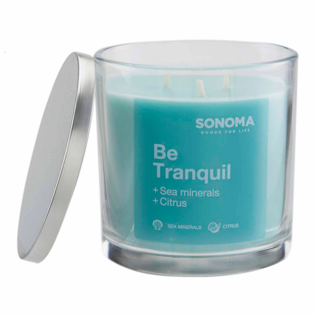 SONOMA Goods for Life™ 14-oz. ''Be Tranquil'' Jar Candle