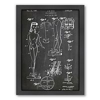 Americanflat ''Barbie Doll'' Framed Wall Art