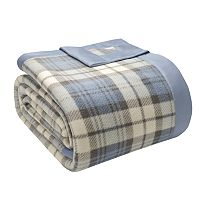 Premier Comfort Simple Luxury Microfleece Plaid Blanket