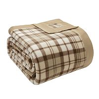 Premier Comfort Simple Luxury Microfleece Plaid Blanket