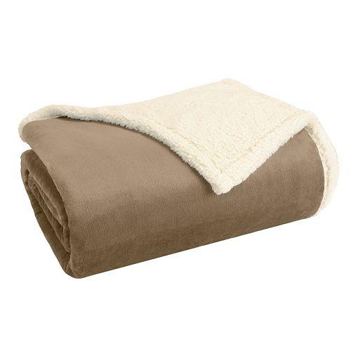 Premier Comfort Plush Microlight & Berber Blanket