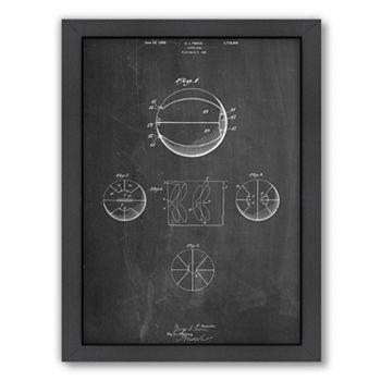 Americanflat ''Basketball'' Framed Wall Art