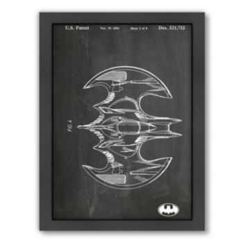 Americanflat ''Bat Wing'' Framed Wall Art