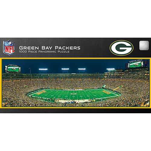 d519d9d34cc Green Bay Packers 1000-pc. Panoramic Puzzle