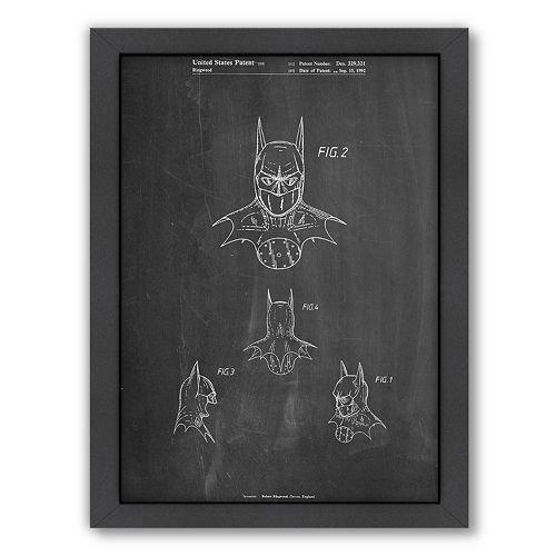 Americanflat ''Batman Mask New'' Framed Wall Art