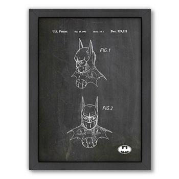Americanflat ''Batman Mask'' Framed Wall Art