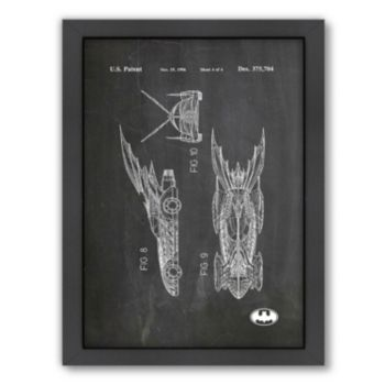Americanflat ''Batmobile'' Framed Wall Art