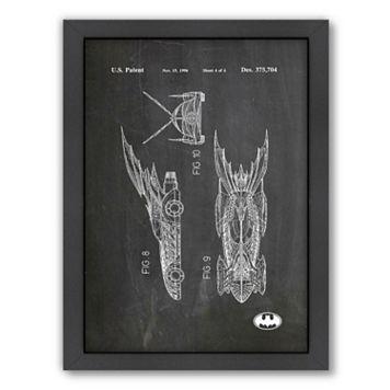 Americanflat ''Batmobile'' Framed Wall Art
