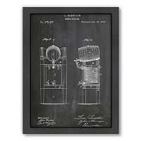 Americanflat ''Beer Cooler'' Framed Wall Art