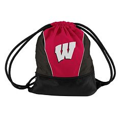 Logo Brand Wisconsin Badgers String Pack