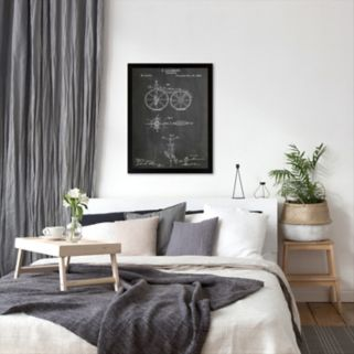 Americanflat ''Bicycle'' Framed Wall Art
