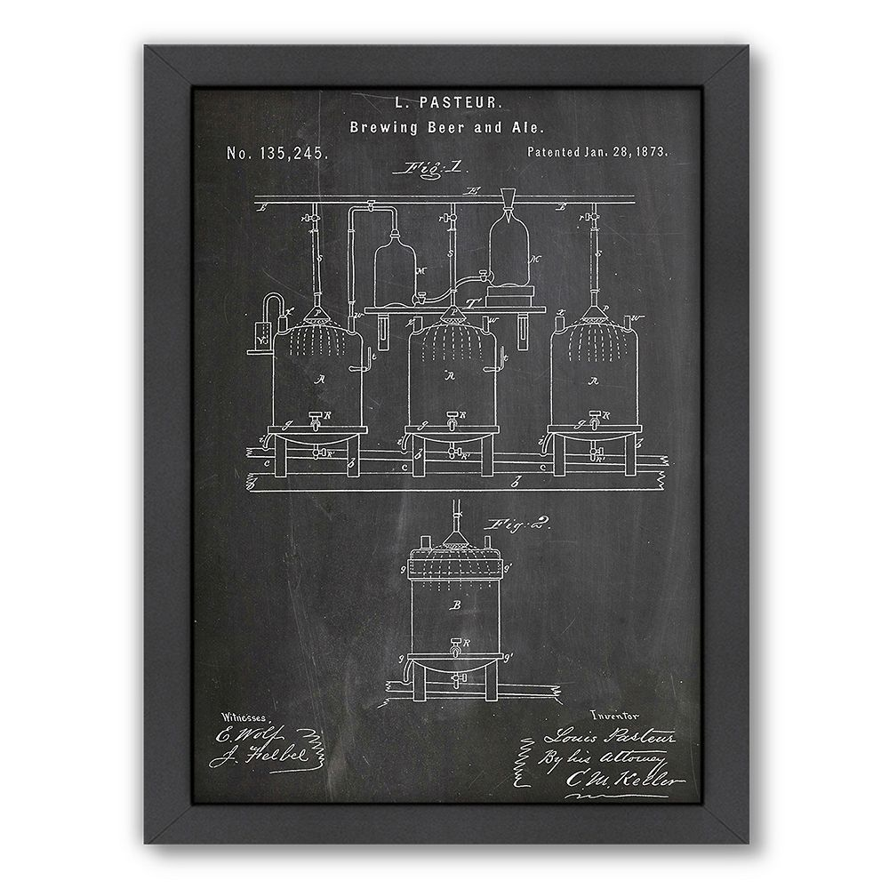 Americanflat ''Brewing'' Framed Wall Art