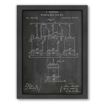 Americanflat ''Brewing'' Framed Wall Art