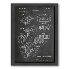 Americanflat ''Building Block'' Framed Wall Art