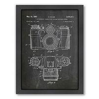 Americanflat ''Camera Photo'' Framed Wall Art