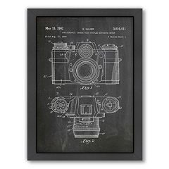 Americanflat ''Camera Photo'' Framed Wall Art