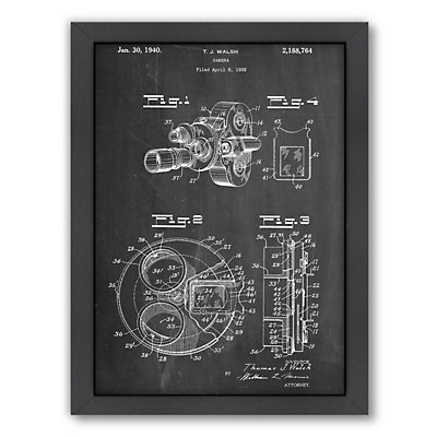 Americanflat ''Camera Walsh'' Framed Wall Art